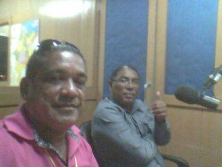 Radialista André Martins, da Capital AM, também participou do Câmara em Destaque