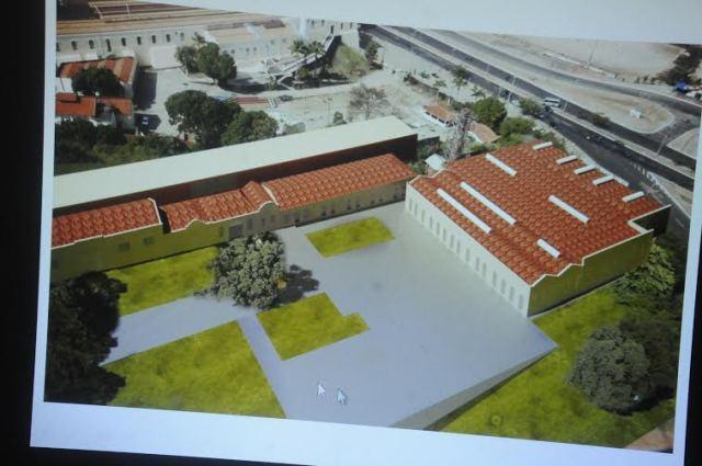 Maquete virtual da Fábrica São Luís, que após a reforma abrigará o Legislativo municipal