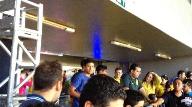 Balada durante jogo da seleção olímpica no Castelão teve acesso restrito