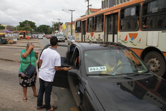 Passagem de carrinho subiu de R$ 2,00 para R$ 2,50, aumento superior ao aplicado às tarifas de ônibus