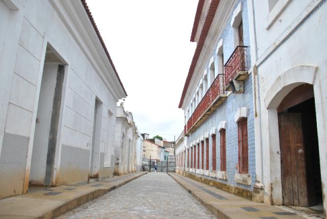 Rua do Centro Histórico de São Luís