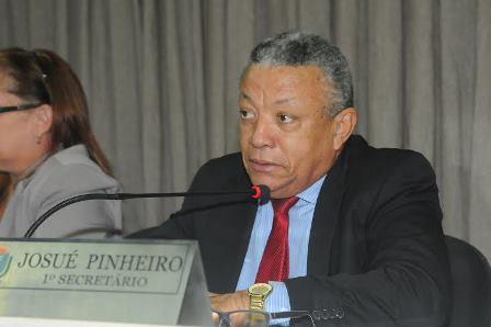 Josué Pinheiro pediu inclusão da Vila Embratel, Alemanha e Santa Efigênia no cronograma de obras prioritárias da Prefeitura (Foto: Paulo Caruá)