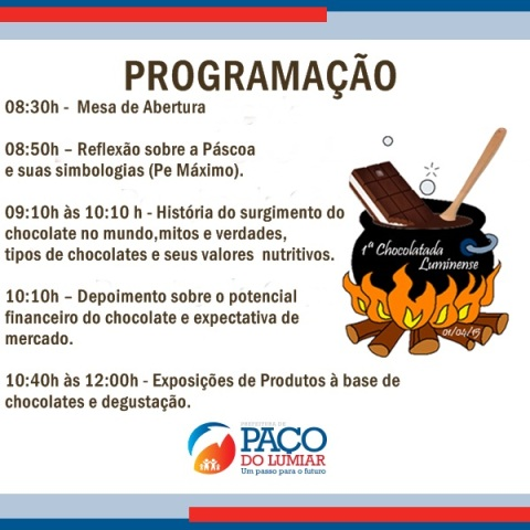 paço chocolate