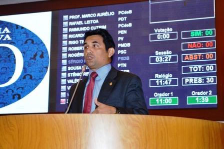 Wellington do Curso cobrou do prefeito cumprimento de propostas de campanha