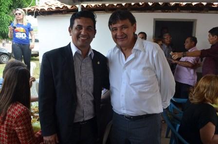 Deputado Wellington do Curso foi recebido pelo governador do Piauí, Wellington Dias