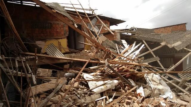 No local restaram toneladas de escombros: revitalização reduzirá criminalidade, segundo a polícia
