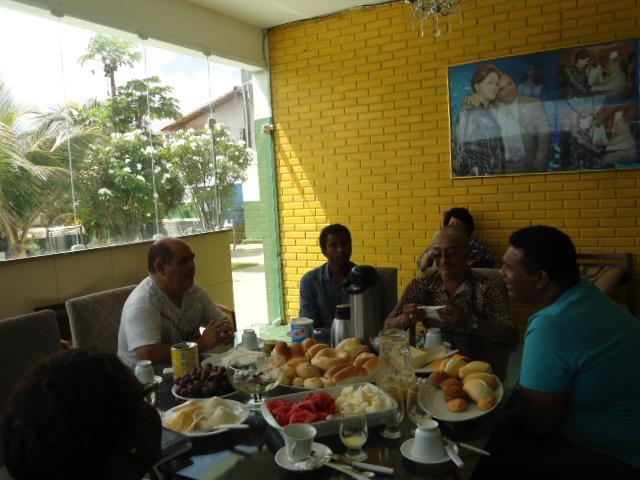 Astro de Ogum anunciou que irá a Alcântara conversar com a comunidade envolvida na Festa do Divino