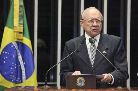 João Alerto relembrou trajetória política de quase seis décadas de Sarney, suas principais benfeitorias ao Maranhão e ao Brasil