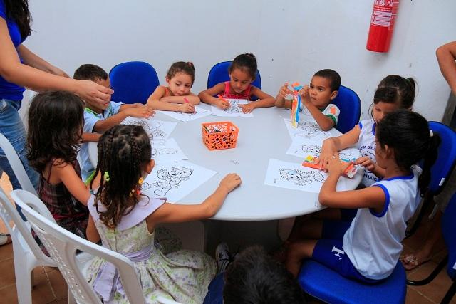 Paço do Lumiar teve programação diversificada para comemorar o Dia Nacional do Livro Infantil