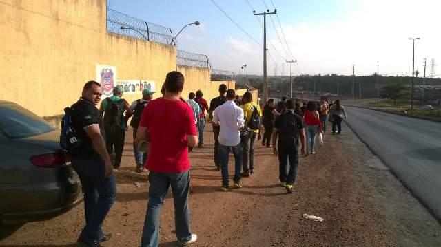 Presos liberados de Pedrinhas em saída temporária anterior (Foto: arquivo/O Estado do Maranhão)