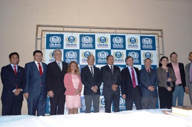 Wellington prestigiou Simpósio Internacional Brasil/Espanha de Direitos Humanos, organizado pela Universidade Ceuma
