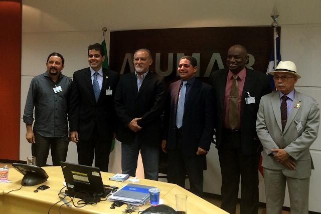 Visita de Adriano Sarney, Zé Inácio, Júnior Verde, Cabo Campos e Fernando Furtado teve o objetivo de esclarecer demissões