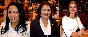 Francisca Primo, Graça Paz e Valéria Macedo abraçaram causa dos servidores, contrariando posição da maioria da Casa