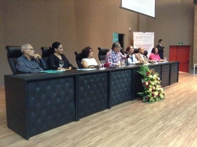 Secretário Geraldo Castro Sobrinho apresenta linhas gerais do Plano Municipal de Educação de São Luís