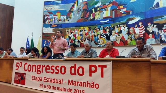 """Zè Inácio: """"o encontro é importante para debatermos nossa estratégia com a base do PT e buscarmos a unidade do partido  no Maranhão"""""""