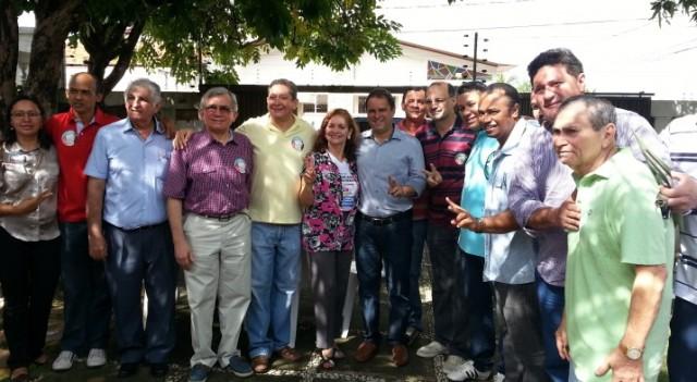 O prefeito de São Luís, Edivaldo Holanda Júnior, também esteve presente ao evento, que foi organizado pelo vereador Honorato Fernandes