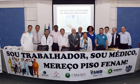 Vereadores defenderam piso salarial justo para médicos durante encontro