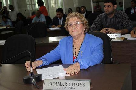 Eidimar Gomes quer cuidar da saúde da população do Anjo da Guarda
