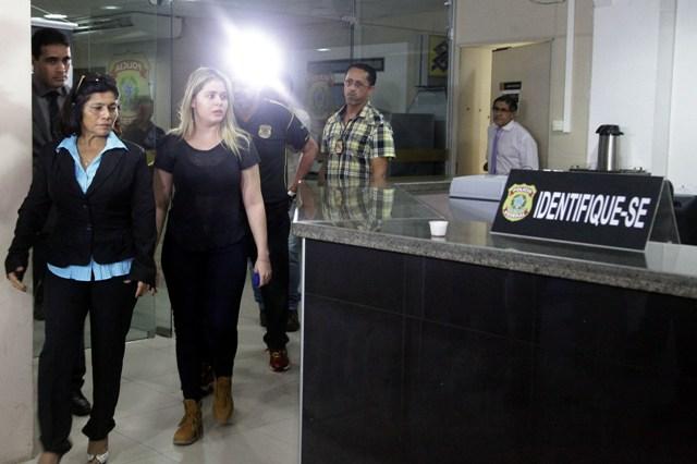 Após se entregar à PF, Lidiane foi encaminhada ao quartel dl Corpo de Bombeiros, mas MPF quer que ela fique presa em Pedrinhas