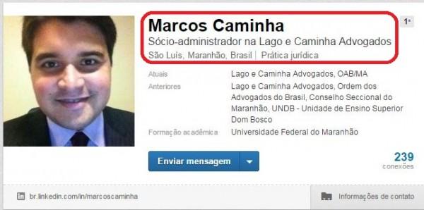 Sócio e assessor de Rodrigo Lago, Marcos Caminha seguir firme no governo comunista