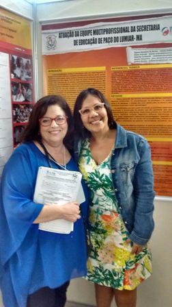Professora de Paço do Lumiar apresentou trabalho em em congresso de psicopedagogia