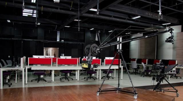 Estúdio da TV UFMA, onde parte da programação será gravada
