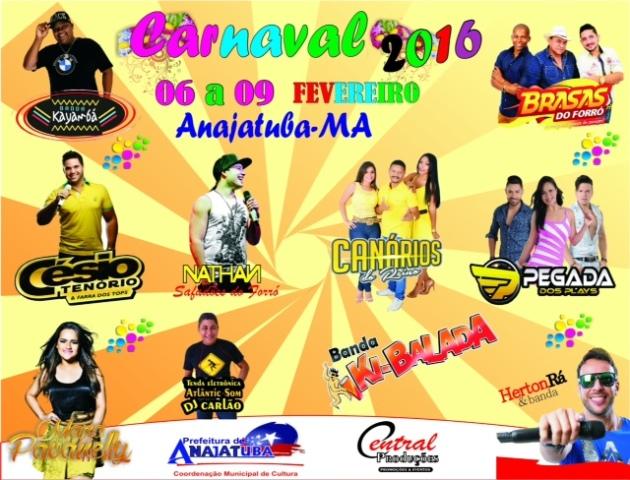 carnaval anajatuba