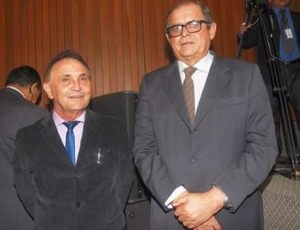 Com o presidente da AL, Humberto Coutinho: homem de confiança