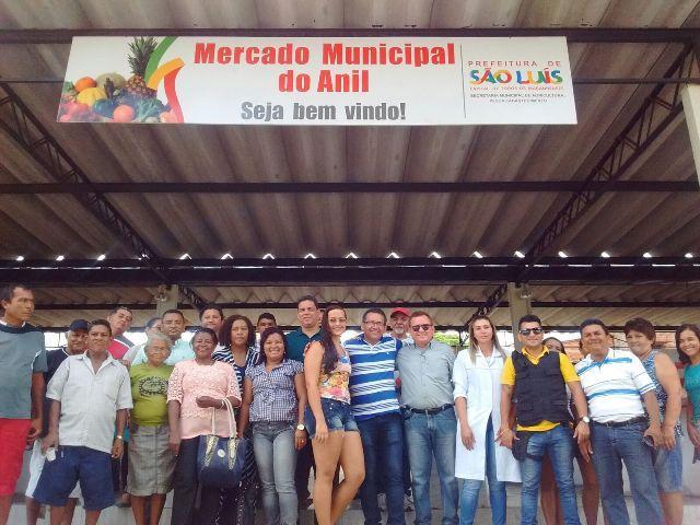 Novo Mercado Municipal do Anil tem estrutura para 56 boxes e mais 40 bancas