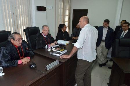 Ribamar Alves foi advertido sobre as medidas alternativas impostas em substituição à sua prisão