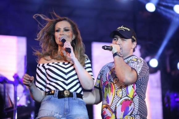 Solange Almeida e Xand Aviãofarão show em São Luís dia 23 de abril