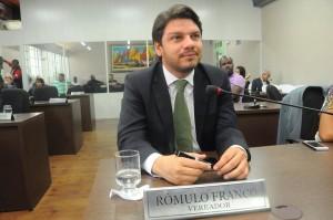 Vereador Rômulo Franco é o autor da proposição