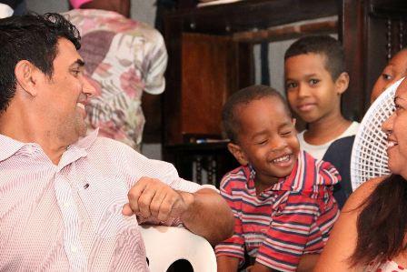 Parlamentar deu atenção especial à situação das crianças