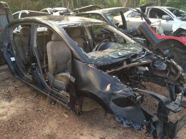 Um dos carros com registro de roubo flagrados pela Seic nos fundos do Sucatão Brasil, no Sacavém
