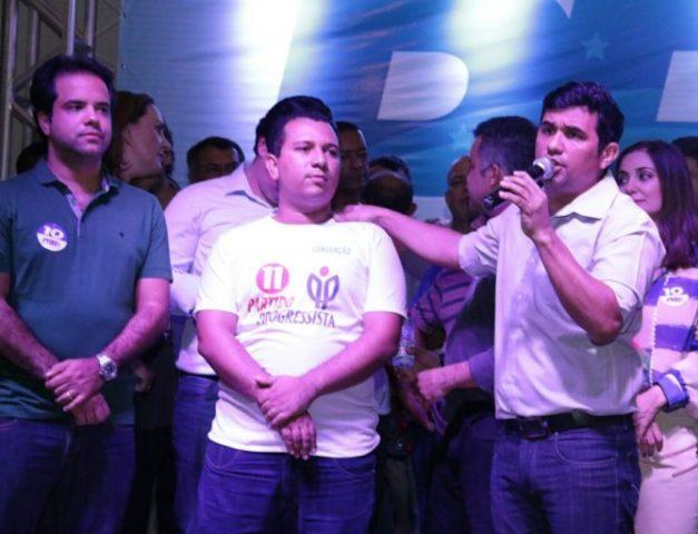 Neto Cruz recebeu o importante apoio do deputado estadual Wellington do Curso