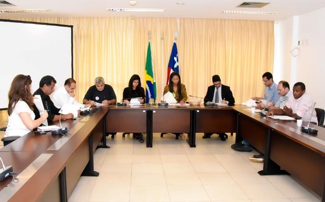 Reunião preparatória para a Sabatina Verde foi realizada na Sala das Comissões da Assembleia Legislativa do Maranhão
