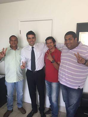 Deputado Adriano Sarney declarou apoio a Juninho Luang