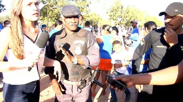 Expulsa da convenção de Josinha Cunha, repórter foi amparada por policiais militares