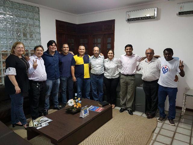 Wellington e André Fufuca se reuniram com partidários para alinhar discurso do PP na campanha