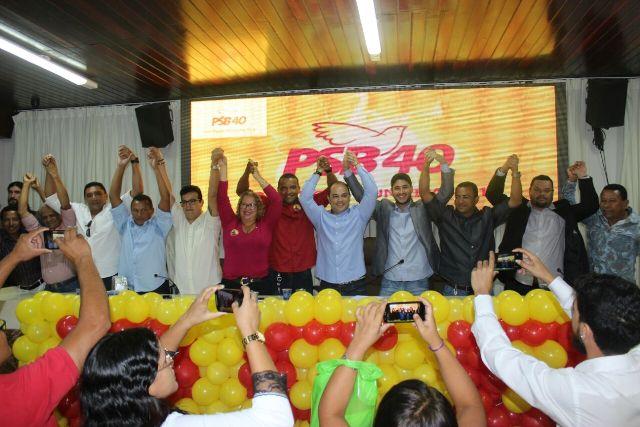 PSB marchará unido ao PP, PSD e PHS na campanha de Wellington a prefeito de São Luís