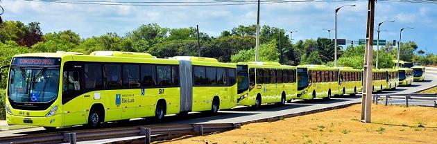 Resultado de imagem para FOTOS de onibus em São Luis