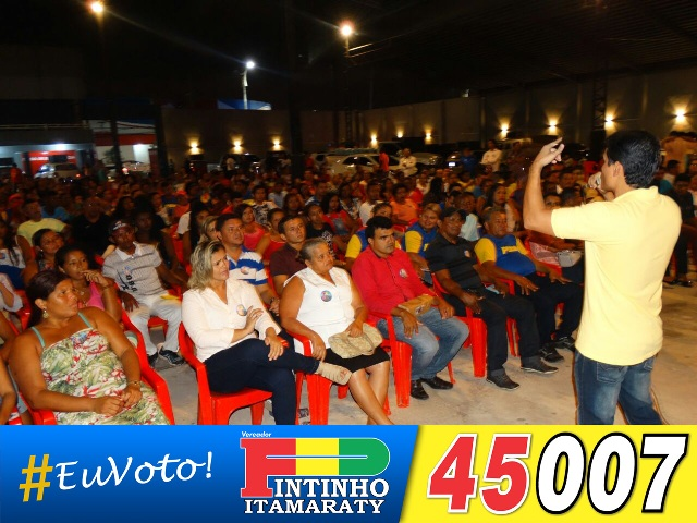 Pintinho pregou humildade, força de vontade e dialogando com os eleitores até o dia do pleito
