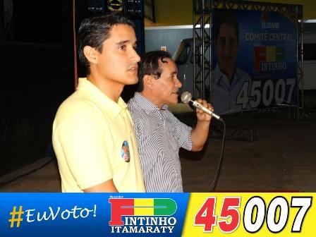 Pinto Itamaraty destacou qualidades do seu herdeiro político