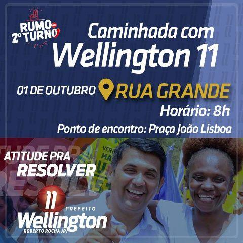 wellington caminha rua grande