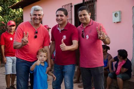 Zé Martins com o deputado e aliado Zé Inácio