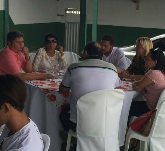 Vereador eleito Marcelo Poeta e a vereadora Bárbara Soeiro também defenderam a reeleição do atual presidente da Câmara