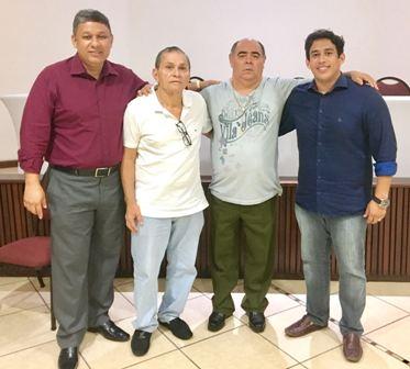 Astro com Honorato, Osmar Filho e Chico Carvalho