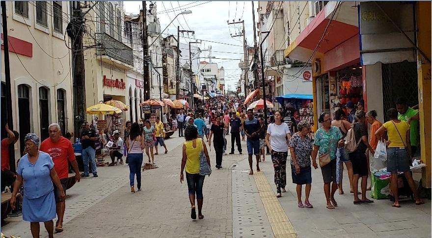 Comércio da Rua Grande funcionará em horário especial no feriado