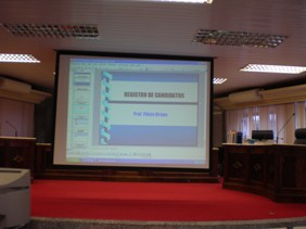 slide sobre o tema da aula