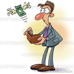 Pouco dinheiro